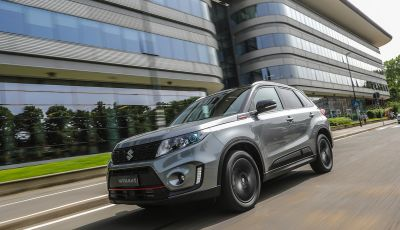 Suzuki Vitara Katana: la jeep ispirata a un'icona delle due ruote