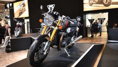 Triumph Thruxton RS 2020: l'iconica cafè racer si evolve in chiave moderna