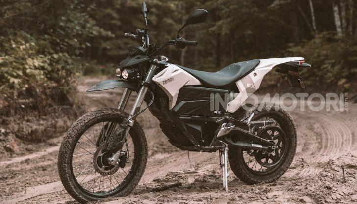 SR/F 2020 e DSR Black Forest Edition: la proposta di Zero Motorcycles a EICMA 2019 - Foto 10 di 12