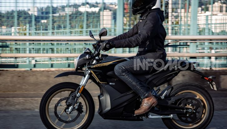 SR/F 2020 e DSR Black Forest Edition: la proposta di Zero Motorcycles a EICMA 2019 - Foto 4 di 12
