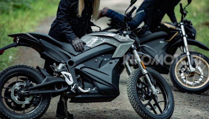 SR/F 2020 e DSR Black Forest Edition: la proposta di Zero Motorcycles a EICMA 2019 - Foto 5 di 12