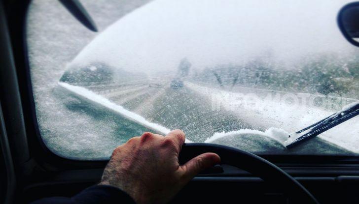 Riscaldamento auto gelo neve