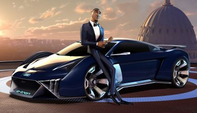 """Audi RSQ e-Tron: la supercar elettrica di """"Spie sotto copertura"""""""