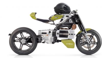 Bst HyperTek: Terblanche firma una nuovo moto elettrica