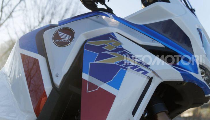 Prova Honda Africa Twin 1100 DCT Adventure Sports 2020: caratteristiche e prezzo - Foto 27 di 63