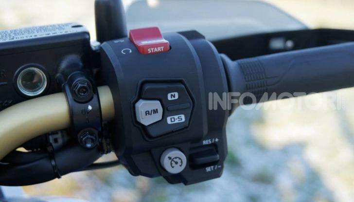 Prova Honda Africa Twin 1100 DCT Adventure Sports 2020: caratteristiche e prezzo - Foto 36 di 63