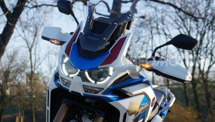 Prova Honda Africa Twin 1100 DCT Adventure Sports 2020: caratteristiche e prezzo - Foto 41 di 63