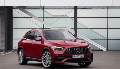 Nuovo Mercedes-AMG GLA 35 4MATIC: prestazioni senza rinunciare al comfort