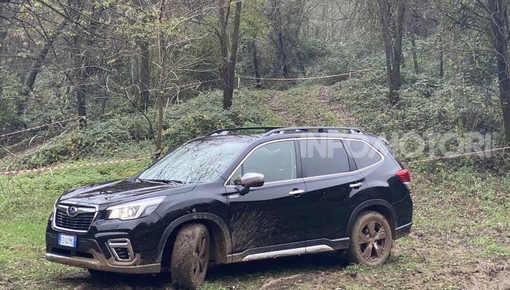 Subaru Forester e-Boxer test drive