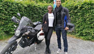 Una Zero Motorcycles DSR Black Forest Edition per attraversare l'Africa