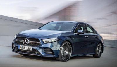 Nuova Mercedes-AMG A 35 4MATIC Sedan, motori e prezzi