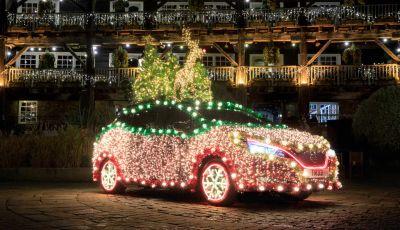 Nissan Tree: la Leaf natalizia per la mobilità sostenibile