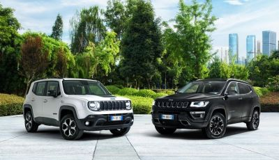 "Jeep Renegade e Compass ibride plug-in 4xe ""First Edition"""