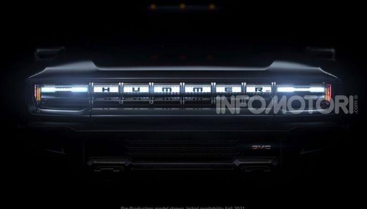 Hummer GMC Elettrico