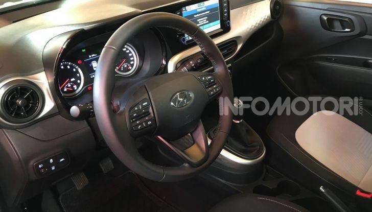 [VIDEO] Nuova Hyundai i10 2020: la compatta coreana che pensa in grande - Foto 14 di 15