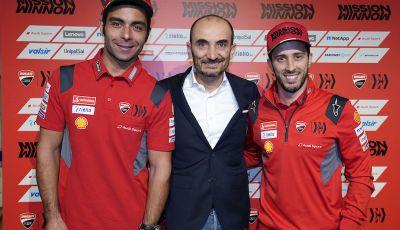 Presentato a Bologna il team Mission Winnow Ducati 2020