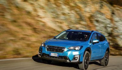 Prova su strada Subaru XV e-Boxer: il crossover compatto