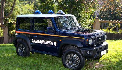 Suzuki Jimny e Ignis nuove alleate dell'Arma dei Carabinieri