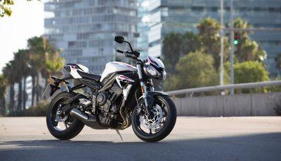 Il 2020 di Triumph si apre col lancio della nuova Street Triple S