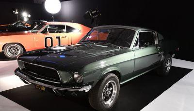 Ford Mustang di Steve McQueen in Bullitt venduta a prezzo record