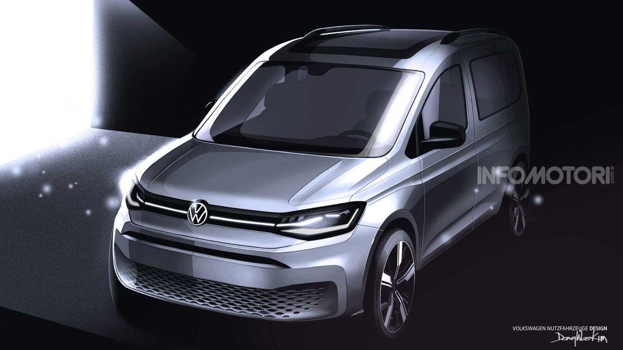 volkswagen caddy 2021: la quinta generazione è una vera