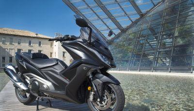 Kymco AK 550 ABS MY 2020: il maxi scooter ancora più potente e tecnologico
