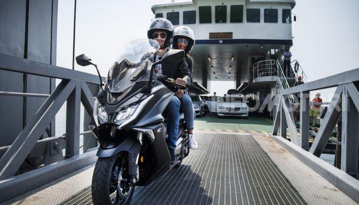 Kymco AK 550 ABS MY 2020: il maxi scooter ancora più potente e tecnologico - Foto 7 di 11
