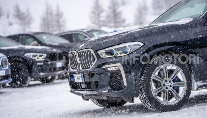 [VIDEO] Il test della nuova BMW X6 2020 sulla neve di Livigno - Foto 10 di 25