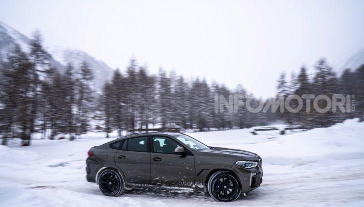 [VIDEO] Il test della nuova BMW X6 2020 sulla neve di Livigno - Foto 13 di 25