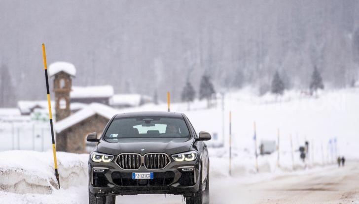[VIDEO] Il test della nuova BMW X6 2020 sulla neve di Livigno - Foto 9 di 25
