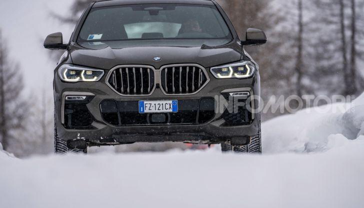 [VIDEO] Il test della nuova BMW X6 2020 sulla neve di Livigno - Foto 2 di 25
