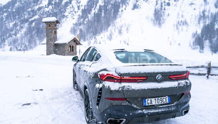 [VIDEO] Il test della nuova BMW X6 2020 sulla neve di Livigno - Foto 6 di 25