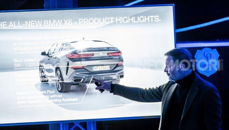 [VIDEO] Il test della nuova BMW X6 2020 sulla neve di Livigno - Foto 16 di 25