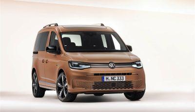Nuovo Volkswagen Caddy 2020: tutto nuovo per cambiare il segmento