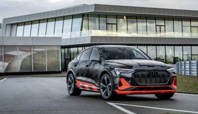 Audi e-Tron S, l'elettrica sportiva dei Quattro Anelli è anche Sportback