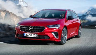 Opel Insignia GSI 2020: il top di gamma della Casa tedesca arriva a marzo