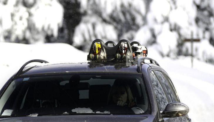 Portasci auto invernale