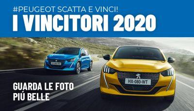 """Tutti i vincitori del nostro contest """"Scatta e Vinci con Peugeot"""""""