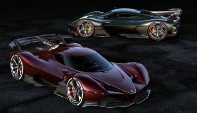 Alfa Romeo 8C-R Tazio: l'auto del futuro che viene dal passato