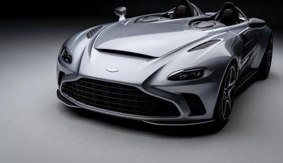 Aston Martin V12 Speedster: ispirata ai caccia