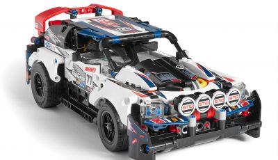 Auto da Rally Top Gear LEGO Technic telecomandata, 463 pezzi e tante funzioni