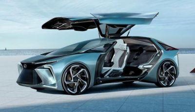 LF-30: il futuro dell'auto secondo Lexus