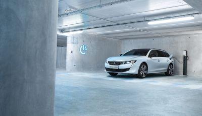 Peugeot 508 Hybrid e 508 SW Hybrid: prestazioni a zero emissioni