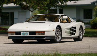 Le Ferrari di Miami Vice: dalla Daytona fasulla alla Testarossa bianca