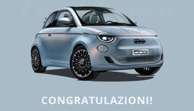 Fiat 500 elettrica comprata online ai tempi del coronavirus