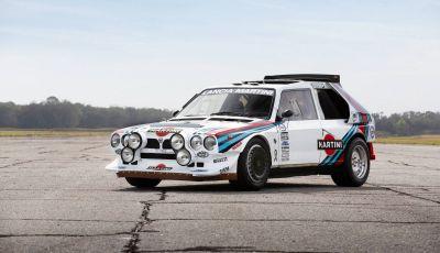 Lancia Delta S4 Corse: in vendita il telaio 208 da Girardo & Co