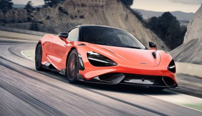McLaren 765LT 2020: potenza estrema e aerodinamica da F1