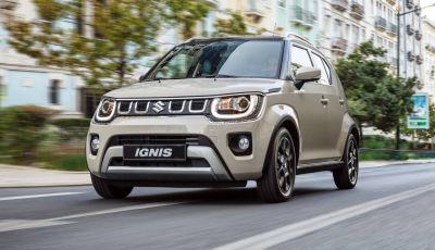 Suzuki Ignis Hybrid 2020: nuovo motore, cambio automatico e batteria più capiente
