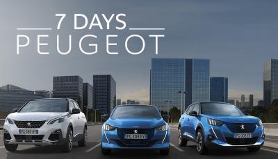 7 Days Peugeot, come comprare l'auto senza pensieri