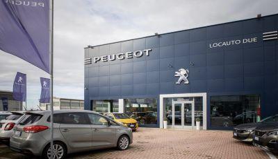 Locauto Due Peugeot Top Dealers Italia per servizi e visione